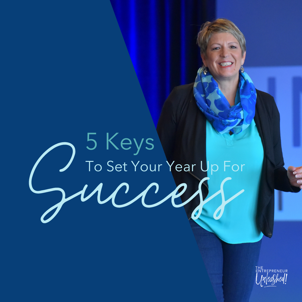 5 Keys To Set Your Year Up For Success - Patti Keating