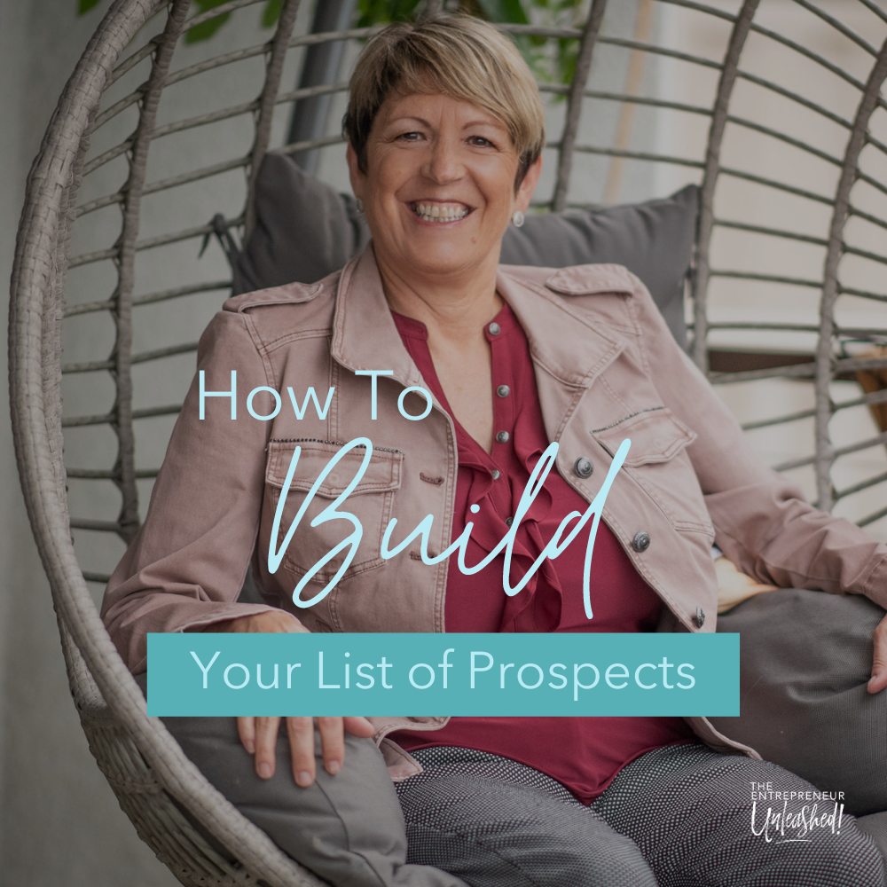 How To Build Your List Of Prospects - Patti Keating