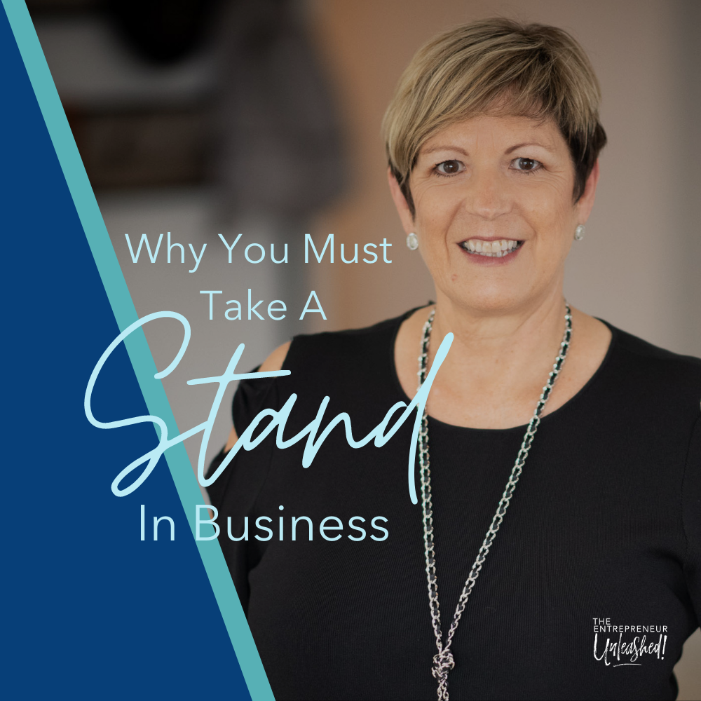 Why You Must Take A Stand in Business - Patti Keating