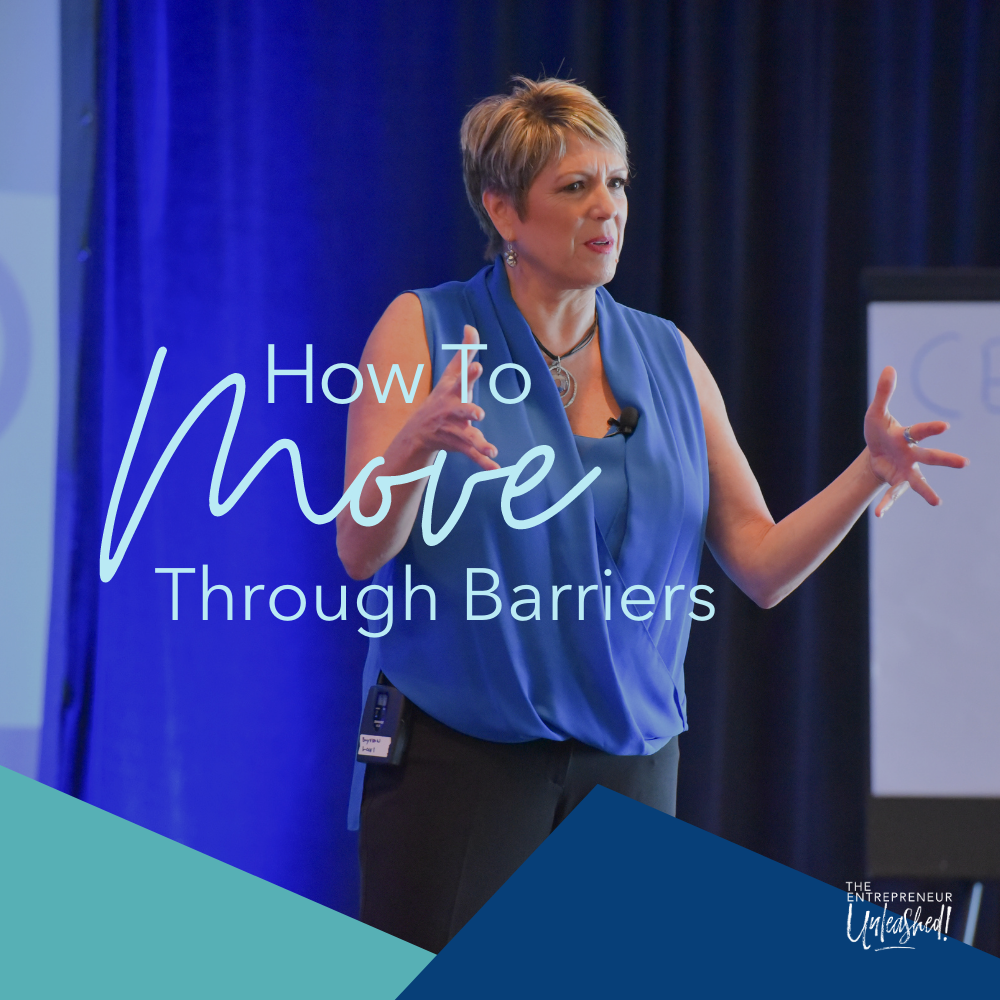How to Move Through Barriers - Patti Keating