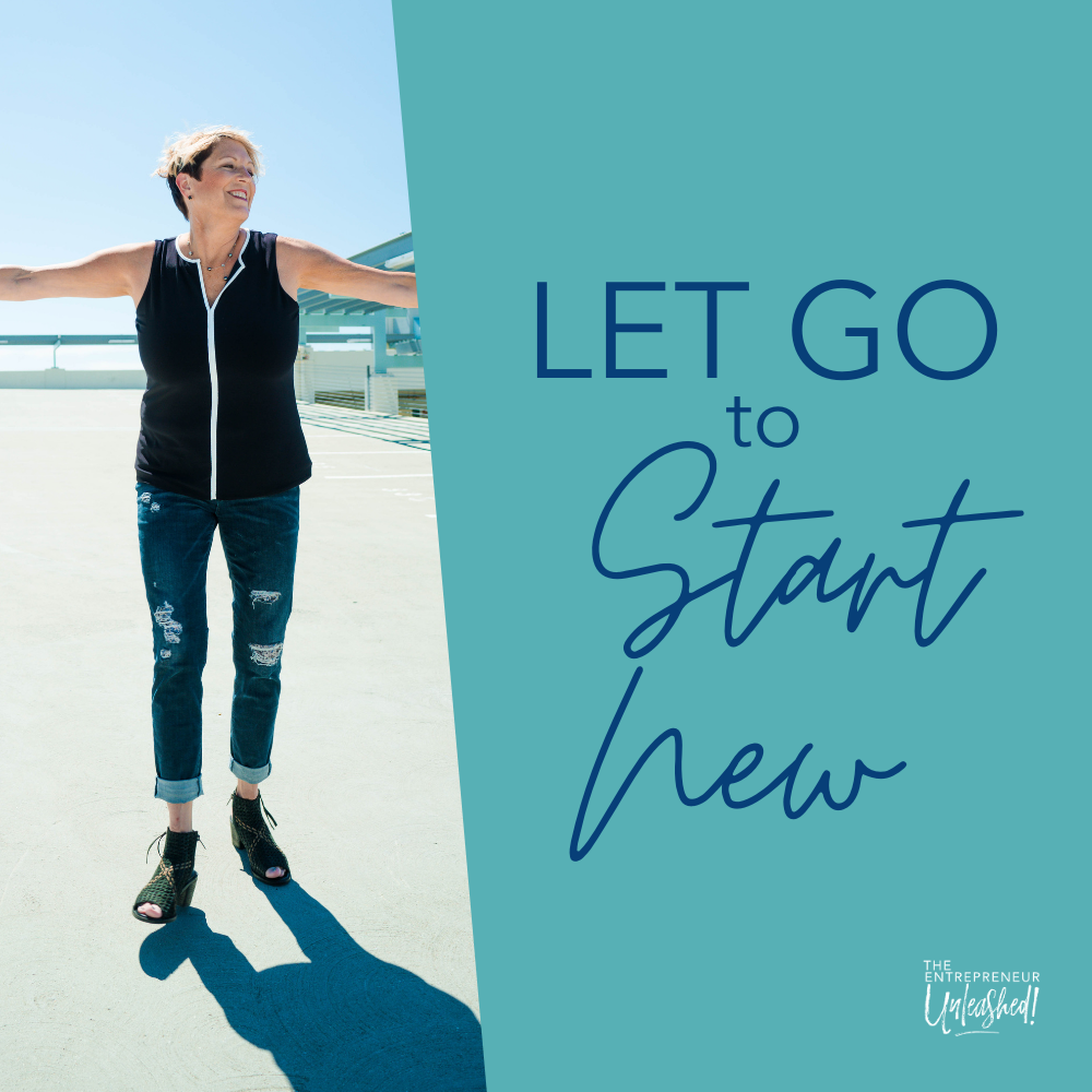 Let Go to Start New - Patti Keating