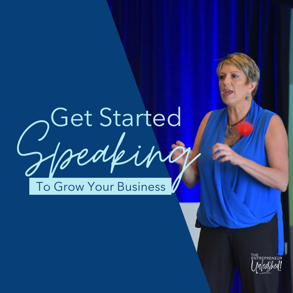 Get Started Speaking To Grow Your Business - Patti Keating