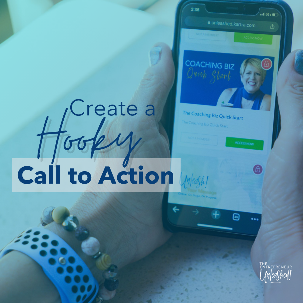 Create a Hooky Call to Action - Mobile