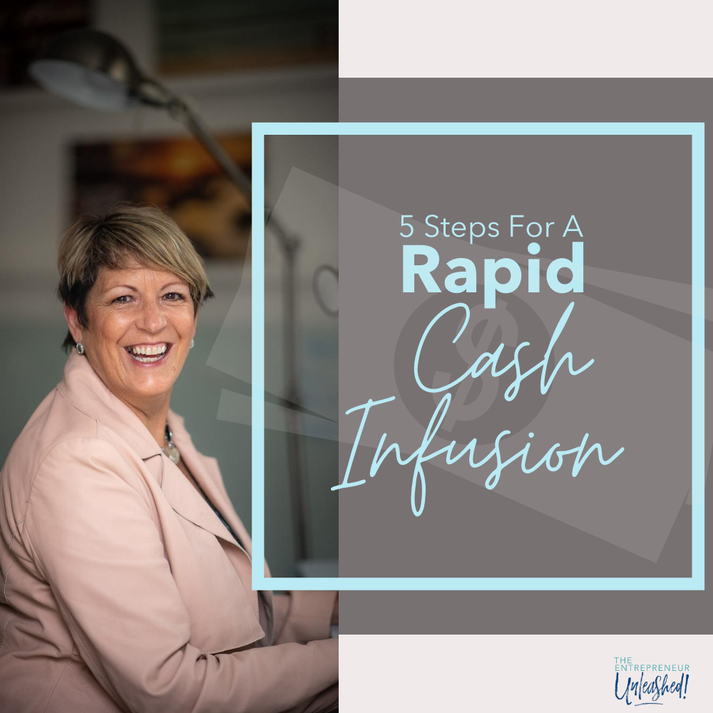 5 Steps For A Rapid Cash Infusion - Patti Keating