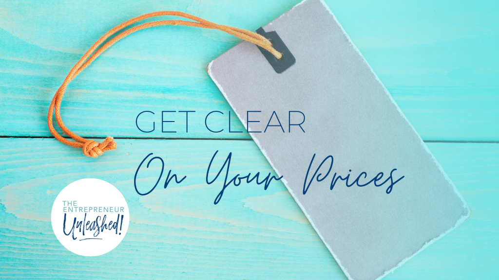 How to Get Clear On Your Value and Set Your Pricing