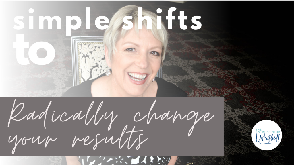 Simple Shifts to Radically Change Your Results - Patti Keating