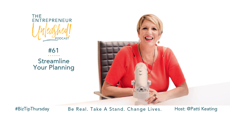 Podcast - Streamline Your Planning - Business Coaching