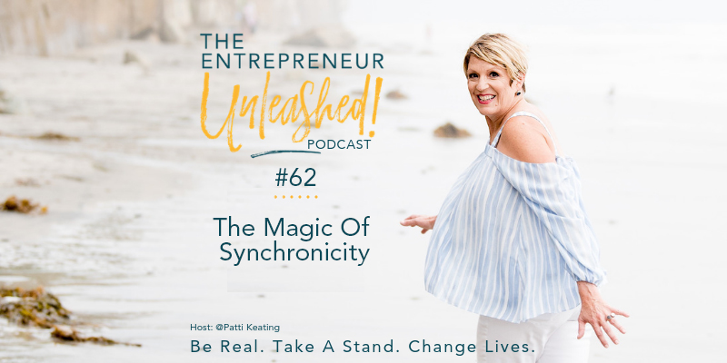 Podcast 62 The Magic Of Synchronicity - Patti Keating