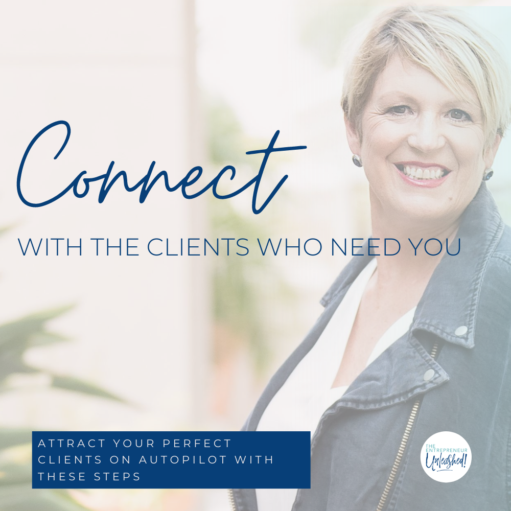 Connect With The Clients Who Need You - Patti Keating