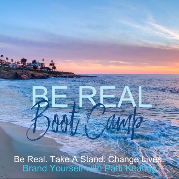 Be Real Boot Camp - Ocean background