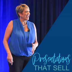 Presentations That Sell - Patti Keating - Blue Background