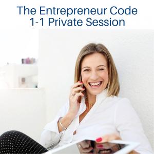The Entrepreneur Code Private Session - white blouse