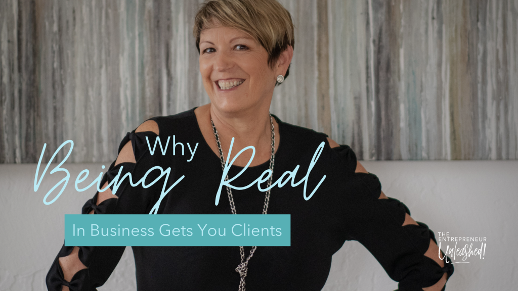 Why Being Real In Business Gets You Clients - Patti Keating