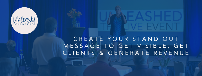 UNLEASH Your Message - Patti Keating